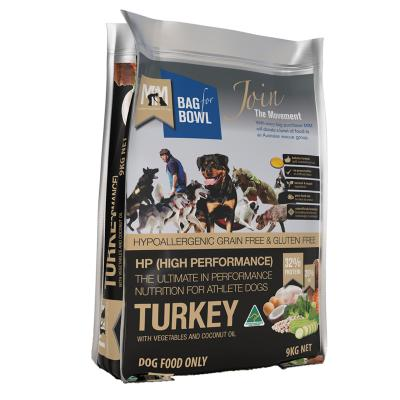 Meals For Mutts MfM Grain Free High Performance Turkey Chickpeas Vegetables Adult Dry Dog Food 9kg