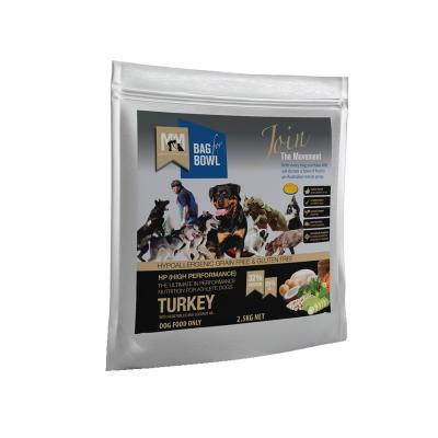 Meals For Mutts MfM Grain Free High Performance Turkey Chickpeas Vegetables Adult Dry Dog Food 2.5kg
