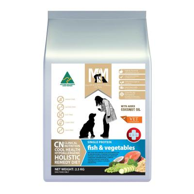 Meals For Mutts MfM CN Clinical Nutrition Hypoallergenic Single Protein Fish And Vegetable Dry Dog Food 2.5kg