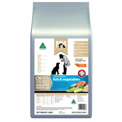 Meals For Mutts MfM CN Clinical Nutrition Hypoallergenic Single Protein Fish And Vegetable Dry Dog Food 20kg