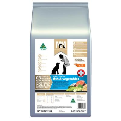 Meals For Mutts MfM CN Clinical Nutrition Hypoallergenic Single Protein Fish And Vegetable Dry Dog Food 9kg