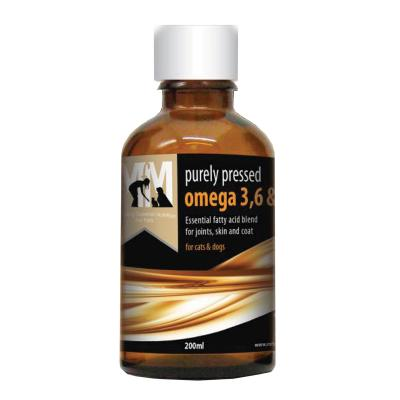 Meals For Mutts MfM Omega 3,6 & 9 Oil For Dogs And Cats 200ml