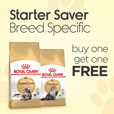 Starter Saver Royal Canin Breed Specific 400-500g Bags