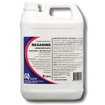 Mavlab Rexadine Antiseptic And Disinfectant Concentrate 5L