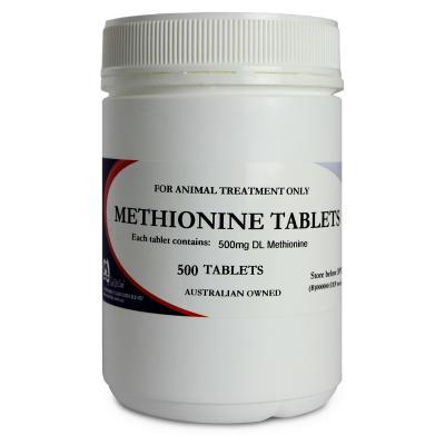 Mavlab Methionine Tablets 500mg For Dogs x 500