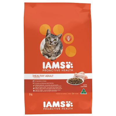 Iams Chicken Adult Dry Cat Food 8kg