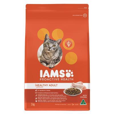 Iams Chicken Adult Dry Cat Food 3kg