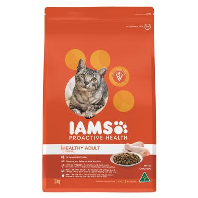 Iams Chicken Adult Dry Cat Food 3kg