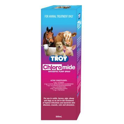 Chloromide Antiseptic Spray Pack 500ml