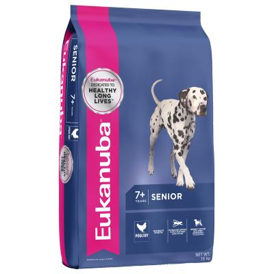 Eukanuba Medium Breed Senior 7+ Years Dry Dog Food 15kg