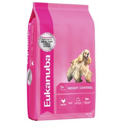 Eukanuba Weight Control Medium Breed Adult Dry Dog Food 15kg