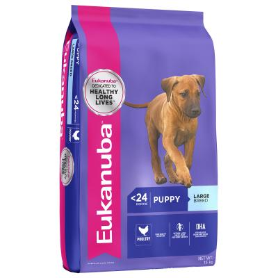 Eukanuba Large Breed Puppy Dry Dog  Food 15kg