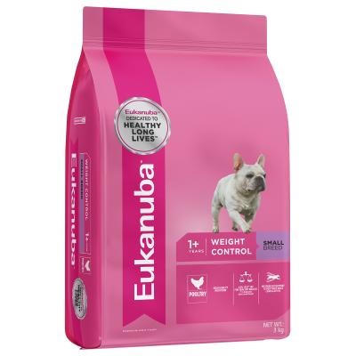 Eukanuba Weight Control Small Breed Adult Dry Dog Food 3kg
