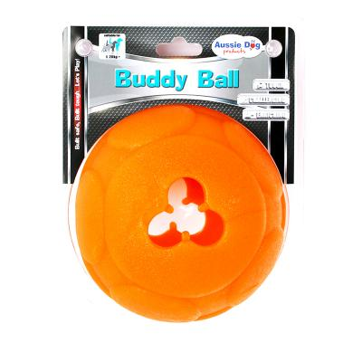 Aussie Dog Buddy Ball Large Food Dispensing Tough Chase Toy For Dogs