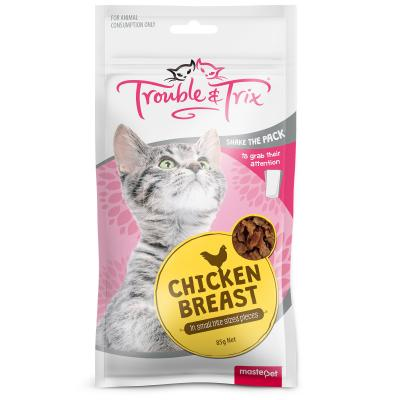 Trouble & Trix Chicken Breast Treats For Cats 85gm