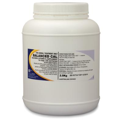 Mavlab Balanced Calcium Powder 2.5kg