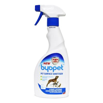 Byopet Surface Sanitiser For Dogs Cats Rodents Small Animals 500ml