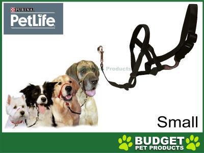 Purina Petlife Halti Head Collar Black Small Size 1 For Dogs
