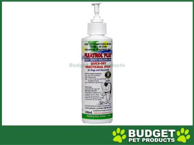 Fidos Fleatrol Plus Flea Spray for Dogs and Household 250ml