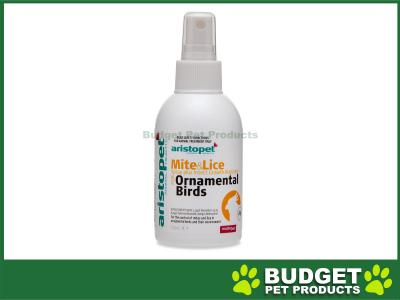 Aristopet Mite And Lice Spray Plus For Birds 125ml