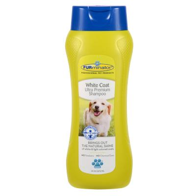 FURminator Ultra Premium White Coat Shampoo For Dogs 473ml