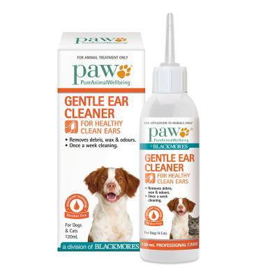 PAW By Blackmores Gentle Ear Cleaner For Dogs and Cats 120ml