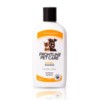 Frontline Pet Care Oatmeal Shampoo For Dogs And Cats 250ml