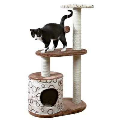 Trixie Casta Scratching Post Brown Beige Scratcher Tree Toy For Cats 95cm
