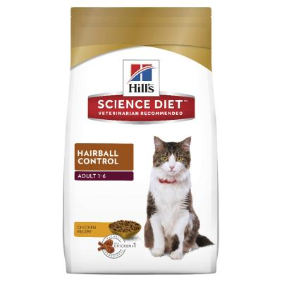 Hills Science Diet Hairball Control Adult Dry Cat Food 4kg  (10300HG)