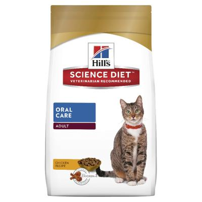 Hills Science Diet Oral Care Adult Dry Cat Food 4kg  (10304HG)