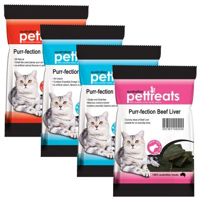 Australian Pettreats Purr-fection Surf And Turf Seafood Tuna Beef And Roo Treat For Cats