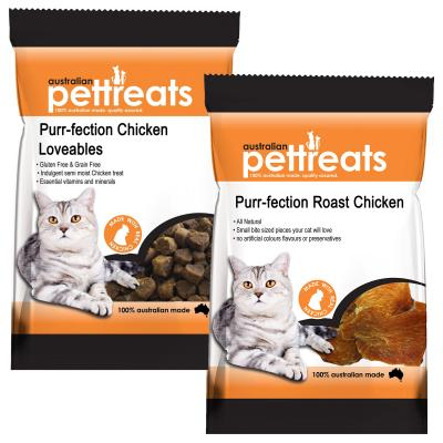 Australian Pettreats Purr-fection Chicken Duo Treats Pack For Cats