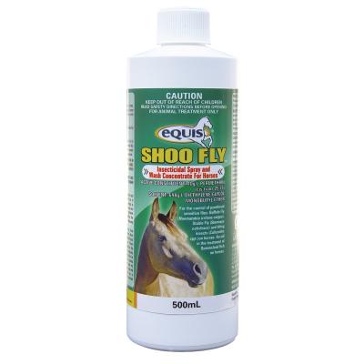 Equis Shoo Fly Insecticidal Spray And Wash Concentrate For Horses 500ml