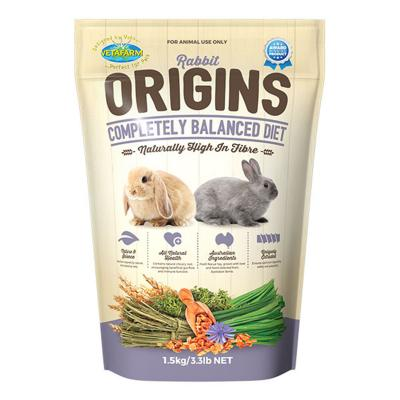 Vetafarm Rabbit Origins Balanced Diet Food For Rabbits 1.5kg