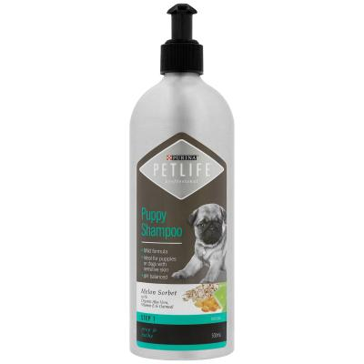 Petlife Professional Puppy Shampoo 500ml Step 1 Grooming For Dogs