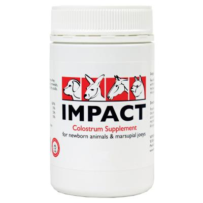 Wombaroo Impact Colostrum Supplement For Dogs Cats Livestock Small Animal 25gm
