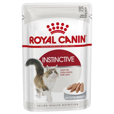 Royal Canin Instinctive Loaf Adult Pouches Wet Cat Food 85gm x 48