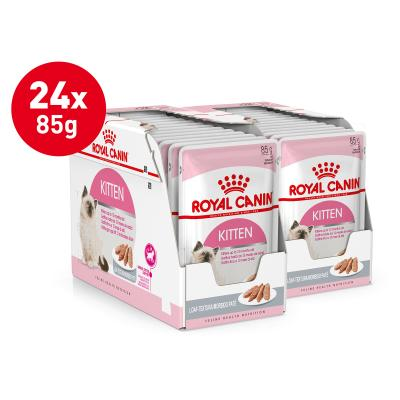 Royal Canin Instinctive Loaf Kitten Pouches Wet Cat Food 85gm x 24