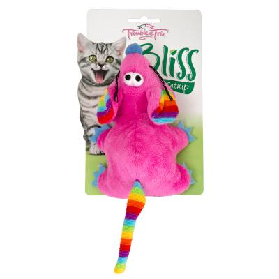 Trouble & Trix Bliss Mouse Large Toy With Catnip For Cats