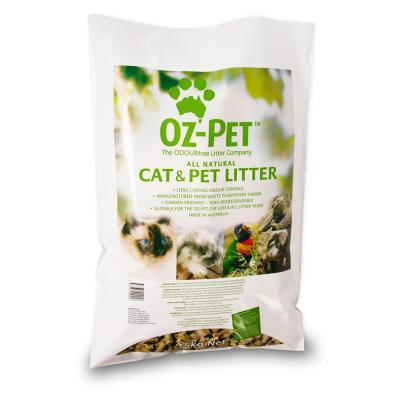 Oz-pet Wood Pellet Cat Litter 15kg