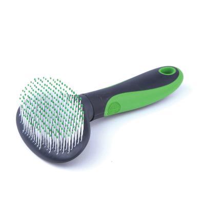 Kazoo Grooming Ball Tipped Soft Slicker Brush For Cats