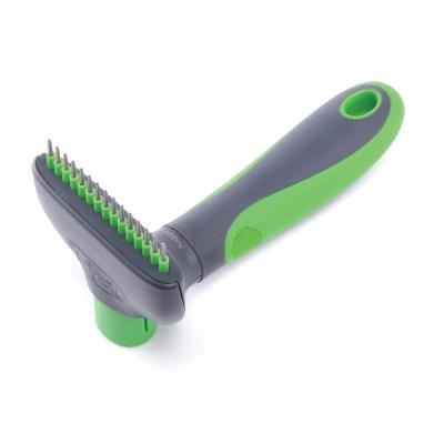 Kazoo Grooming Self Cleaning Grooming Rake Medium For Dogs