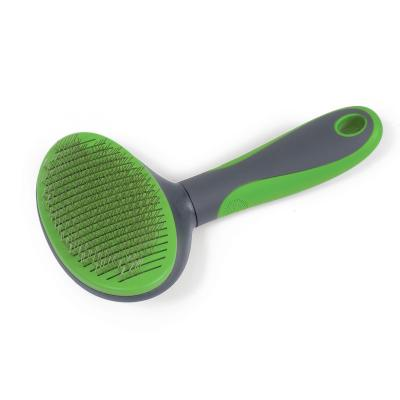 Kazoo Grooming Self Cleaning Slicker Brush Large For Dogs