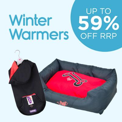 Winter Warmers Up To 59% Off RRP
