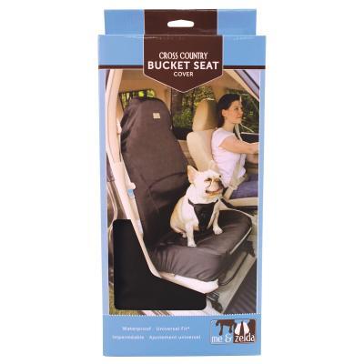 Me & Zelda Universal Fit Adjustable Single Front Bucket Seat Car Cover