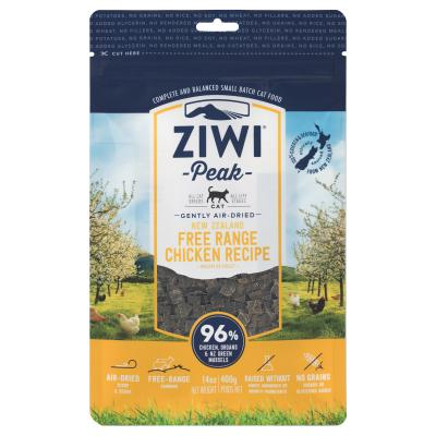 Ziwi Peak Grain Free Chicken Kitten And Adult Air Dried Meat Cat Food 400gm