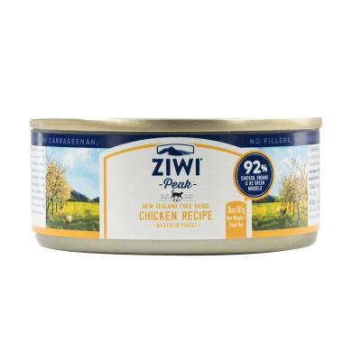 Ziwi Peak Grain Free Chicken Kitten And Adult Canned Wet Meat Cat Food 24 x 85gm