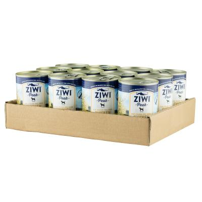Ziwi Peak Grain Free Chicken Puppy And Adult Canned Wet Meat Dog Food 12 x 390gm