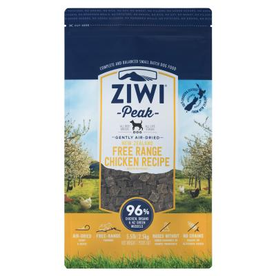Ziwi Peak Grain Free Chicken Puppy And Adult Air Dried Meat Dog Food 2.5kg