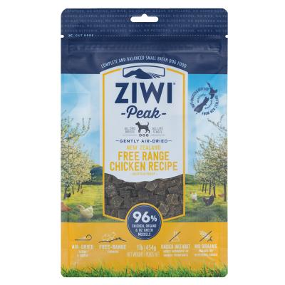 Ziwi Peak Grain Free Chicken Puppy And Adult Air Dried Meat Dog Food 454gm